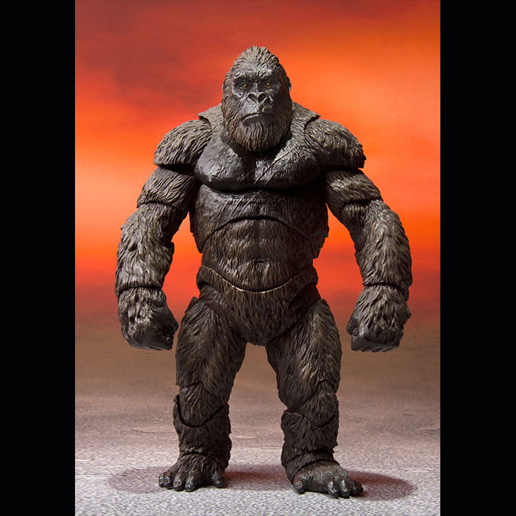 S.H.MonsterArts KONG FROM GODZILLA VS. KONG