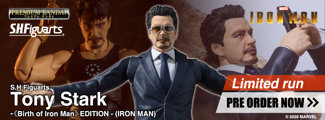 S.H.Figuarts Tony Stark -Birth of Iron Man EDITION-(IRON MAN)
